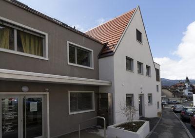Bâtiment de la coopérative d'habitation romande à Vallorbe - Portefeuille immeubles Coopelia