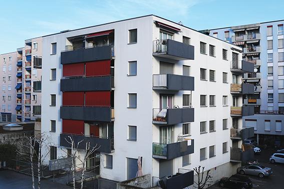 Immeuble chemin de Malley  – Lausanne