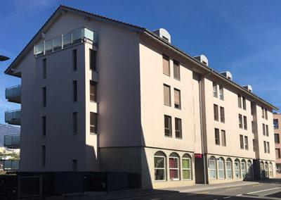 Immeuble de COOPELIA à Orbe
