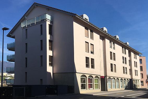 Immeubles Rue des Terreaux – Orbe
